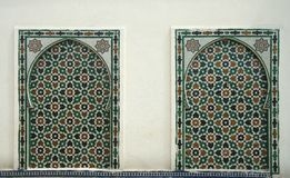 Marokkanisches Muster Lizenzfreie Stockfotografie