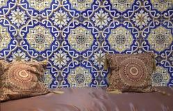 Marokkanisches Wohnzimmer Stockfotos