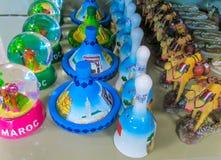 Marokko-Andenken am Shop Lizenzfreie Stockfotos