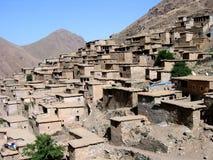 Marokko-Dorf Lizenzfreies Stockbild