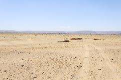 Marokko, Draa-Tal, Brunnen Lizenzfreie Stockfotografie