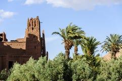 Marokko, Draa-Tal, Kasbah Stockbild