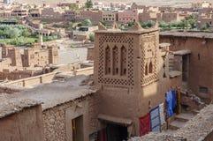 Marokko, Draa-Tal, Kasbah Stockbilder
