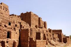 Marokko, Draa-Tal, Kasbah von Tamnougalt Lizenzfreie Stockfotografie