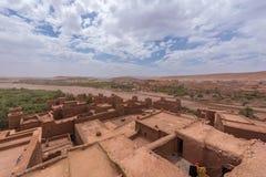 Marokko: haddouspel van AIT ben van tronen Royalty-vrije Stock Fotografie