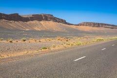 Marokko, hohe Atlas-Berge, Ackerland auf dem fruchtbaren Lizenzfreie Stockbilder