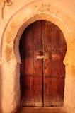 Marokko Kasbah von Tamnougalt, Tür Stockfotos
