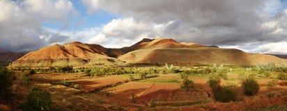 Marokko-Landschaft Lizenzfreies Stockfoto