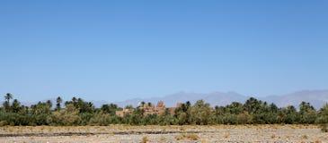 Marokko-landwirtschaftliche Landschaft Lizenzfreies Stockbild