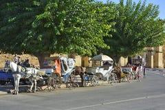 Marokko, Meknes stock foto's