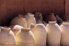 Marokko Ouarzazate, Gläser Stockfoto