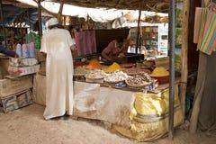 Marokko souk stock fotografie