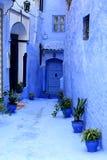 Marokko-Straße Stockfoto