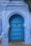 Marokko-Tür Stockfoto