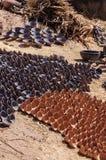 Marokko, Topffabrik Lizenzfreie Stockfotos