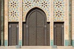 Maroko casablanca szczegółu Hassan ii meczet obraz stock
