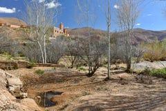 Maroko Dades dolina Zdjęcie Stock