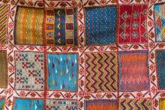 Maroko dywan, sławny produkt w Morooco obrazy stock