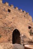 Maroko, El Jadida, Azemmour miasta brama Obrazy Stock