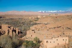 Maroko Kasbah obraz royalty free