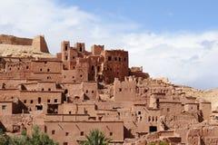Maroko Kasbah ait Ben haddou zdjęcie stock