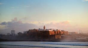 Maroko Kasbah Oudaya w Rabat Fotografia Royalty Free