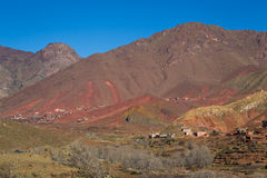 Maroko mauntain landscape, Stock Photo