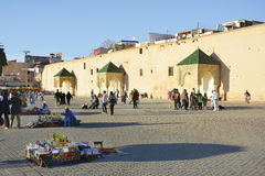 Maroko, Meknes Zdjęcia Stock