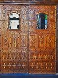 Maroko, miasto fez 13 Marzec 2019: Brama wejście jeden ulicy miasto bazar obraz royalty free