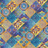 Maroko mozaiki projekt abstrakcyjny tło Obrazy Royalty Free