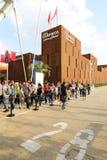 Maroko pawilon Mediolan, Milano expo 2015 Fotografia Stock