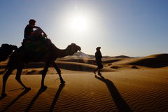 Maroko pustynia Obraz Royalty Free