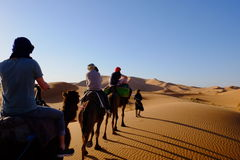 Maroko pustynia Fotografia Stock