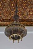 Maroko stylu lampa Zdjęcie Royalty Free