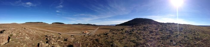 Maroko widok górski Obrazy Stock