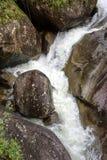 Maromba. Waterfall in the lower Itatiaia National Park in Rio de Janeiro Royalty Free Stock Photos