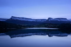 Marono reservoir at night Stock Photo