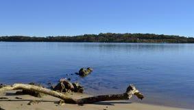 Maroochy河,阳光海岸,昆士兰,澳大利亚 免版税库存图片
