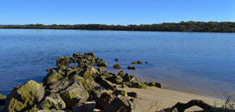 Maroochy River, Maroochydore, Sunshine Coast, Queensland, Australia Royalty Free Stock Photos