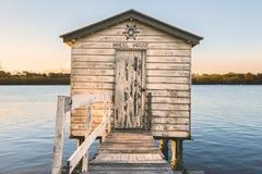 Maroochy Rzeczny Łódkowaty dom Zdjęcie Royalty Free