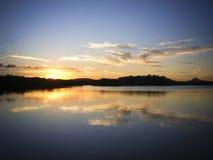 Maroochy rzeka, Maroochydore, światła słonecznego wybrzeże, Queensland, Australia Zdjęcie Stock