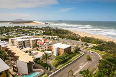 Maroochydore Skyline Royalty Free Stock Photos