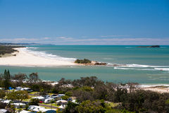 Maroochydore and Twin Waters royalty free stock image