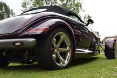 Maroon автомобиль Стоковое фото RF