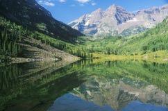 Maroon озеро Стоковое Изображение