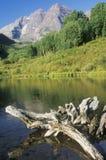 Maroon озеро Стоковая Фотография