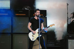 Maroon 5's Adam Levin Royalty Free Stock Image