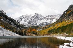 Maroon Bells Royalty Free Stock Photography