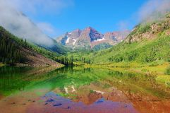 Free Maroon Bells Royalty Free Stock Photo - 15925195
