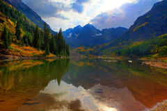 Maroon Bells Royalty Free Stock Photo